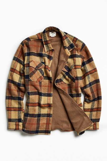 Captain Fin Grant Plaid Shirt Jacket