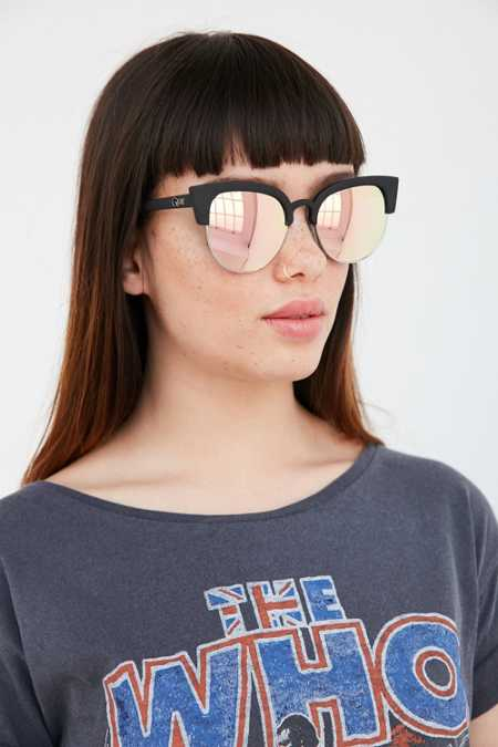 Quay Avalon Half-Frame Sunglasses