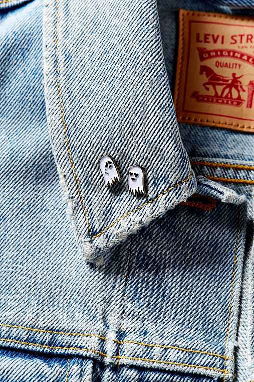 Sara m lyons mini ghost pin set urban outfitters - Urban outfitters lyon ...