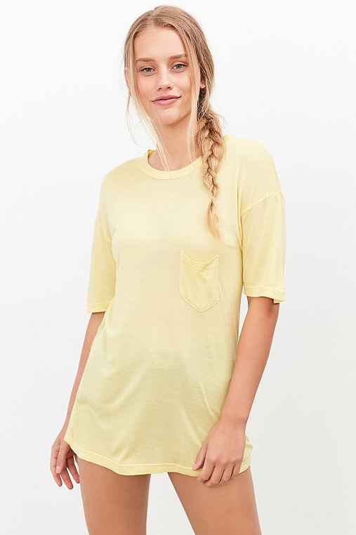 Truly Madly Deeply Jessa Tee,YELLOW,M