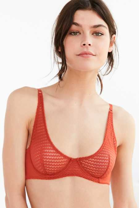 Out From Under Kennedy Textured Underwire Bra