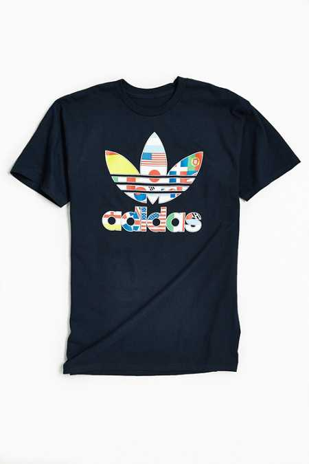 adidas Stacked International Tee