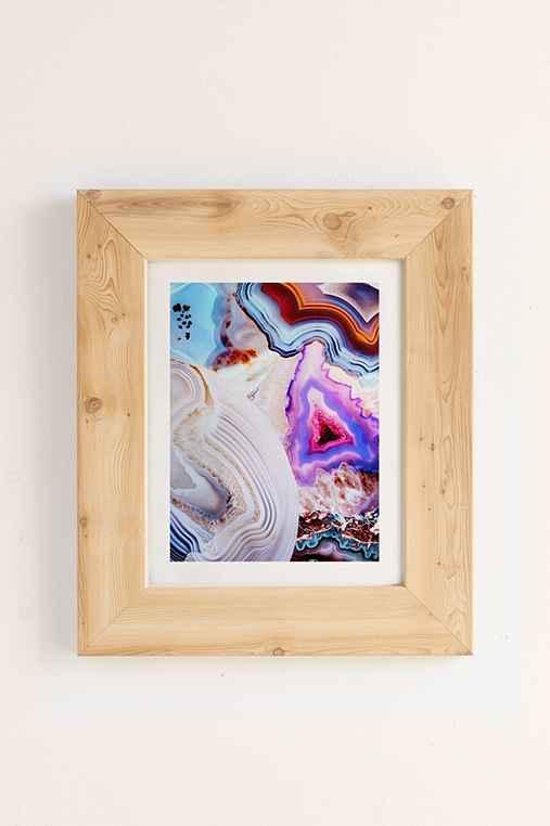 Elena Kulikova Agate Art Print,PINE,18X24