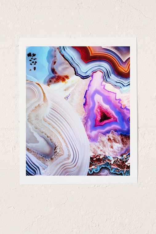 Elena Kulikova Agate Art Print,NO FRAME,13X19
