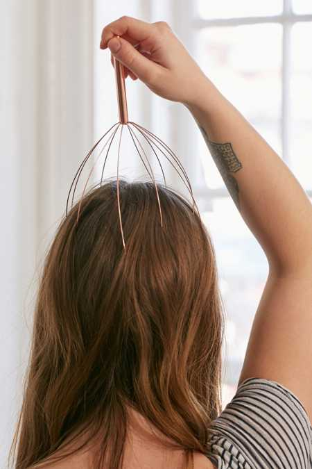 Copper Head Massager