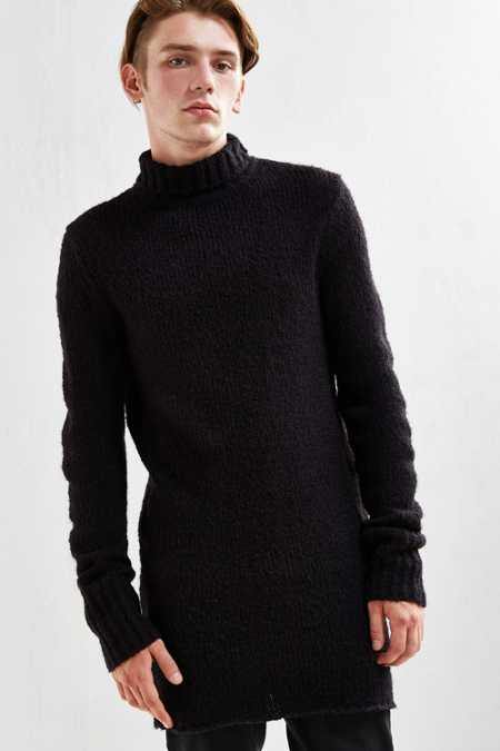 Cheap Monday Longline Turtleneck Sweater