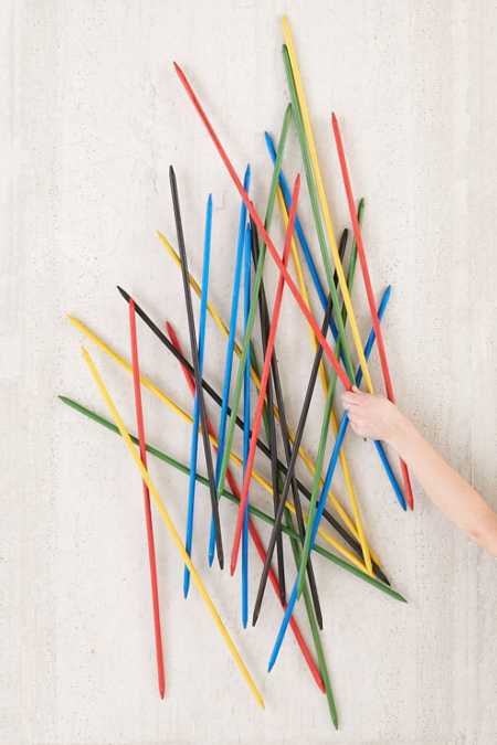 Giant Pick-Up Sticks Game