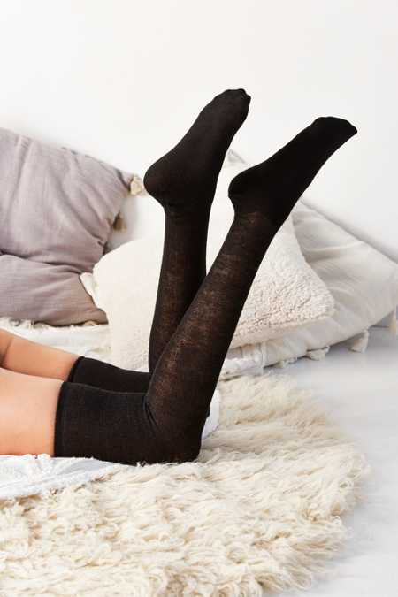Out From Under Basic Lightweight Thigh High Sock