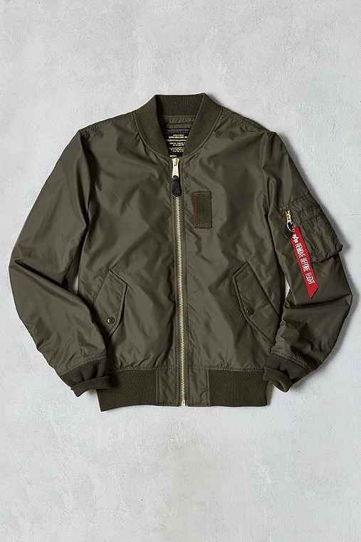 Alpha Industries MA-1 Skymaster Bomber Jacket,DARK GREY,L