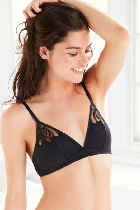 Out From Under Rosaline Applique Bra