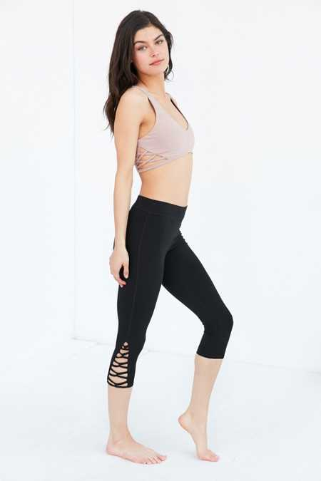 Without Walls Crisscross Splice Cropped Legging