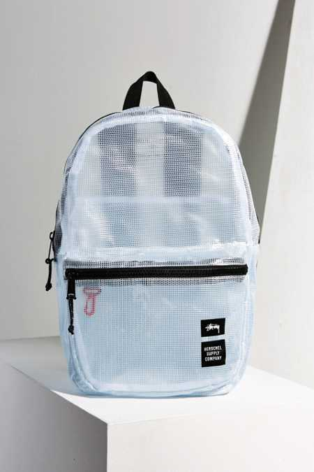 Stussy Clear Tarpaulin Lawson Backpack