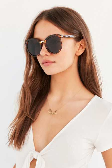Veronica Preppy Cat-Eye Sunglasses