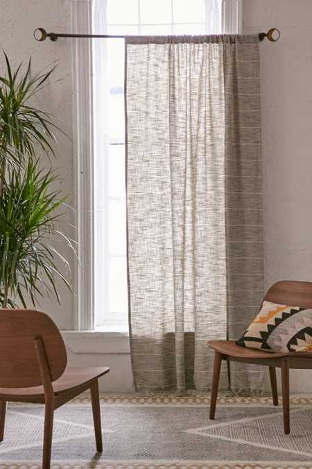 Nikko Marled Stripe Curtain