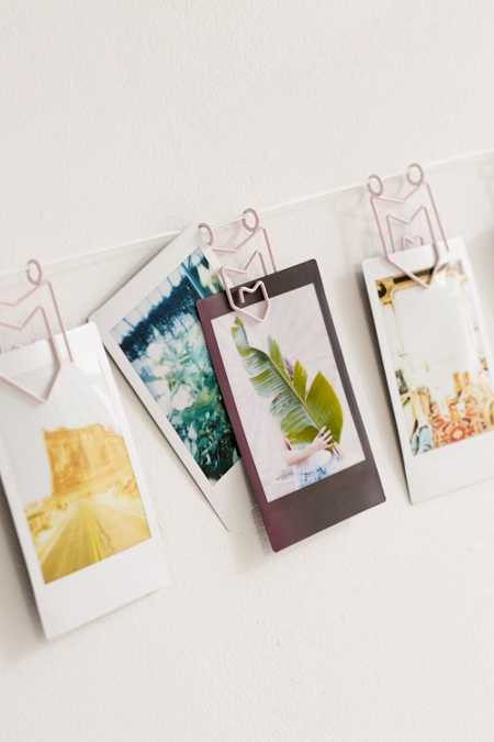 Matte Pennant Photo Clips String Set