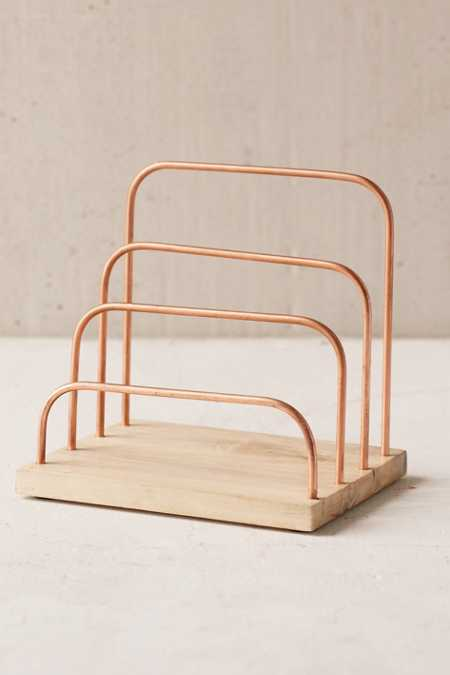 Copper Letter Holder