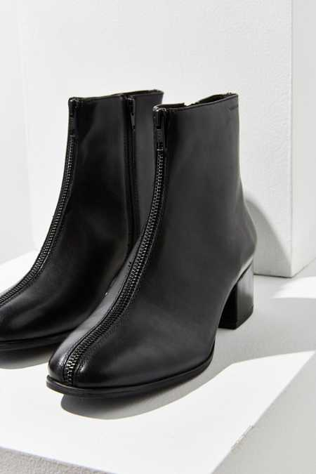 Vagabond Leather Daisy Zipper Ankle Boot