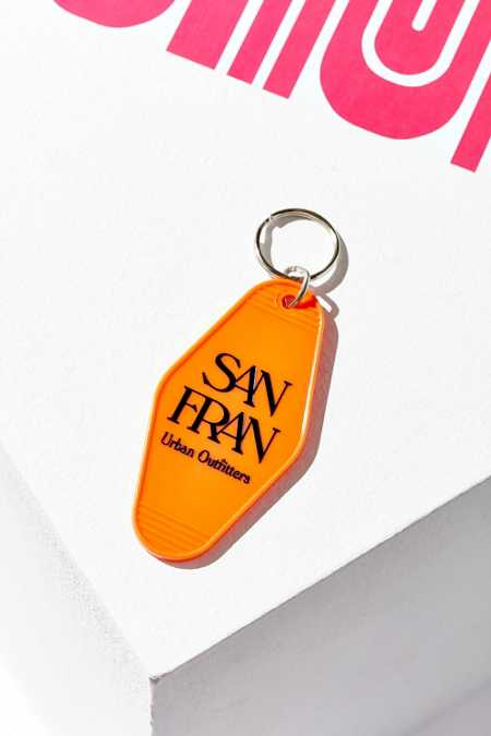 UO Souvenir San Francisco Key Tag