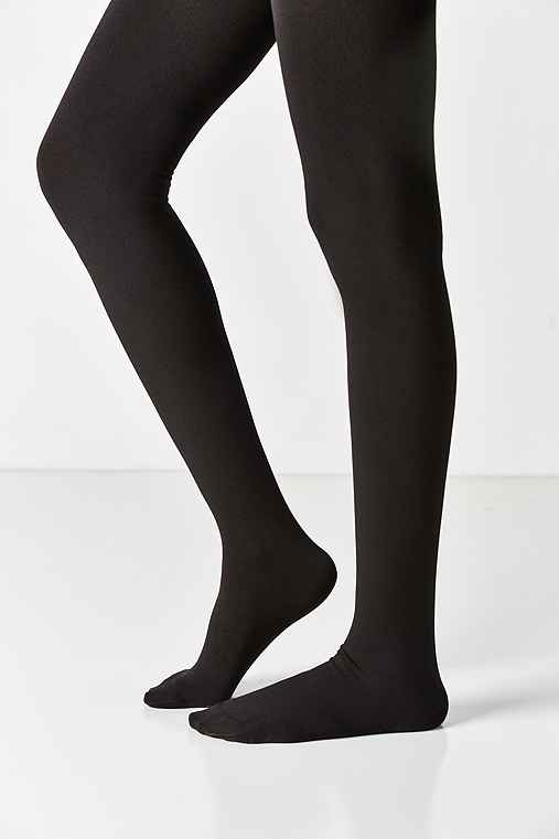 Out From Under Fleece Lined Full Tight,BLACK,M/L