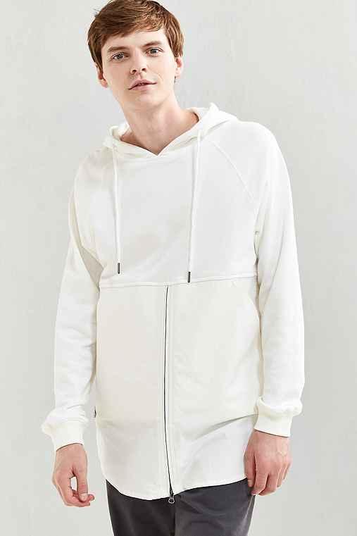 Publish Fedde Fabric Block Hoodie Sweatshirt,WHITE,M
