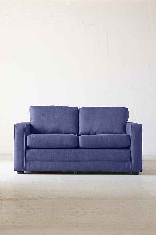 Deco Convertible Sofa,BLUE,ONE SIZE
