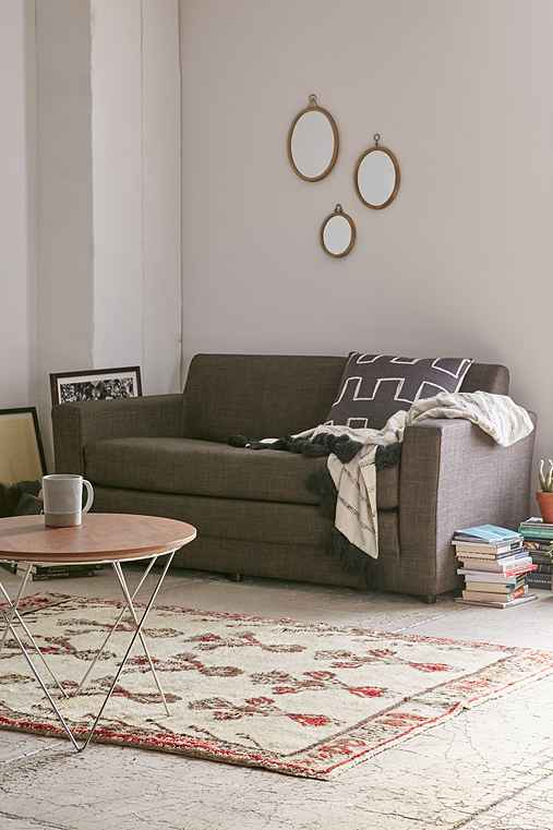 Anywhere Convertible Sofa,CHARCOAL,ONE SIZE