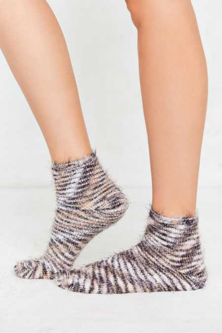 Out From Under Feathery Marled Ankle Sock