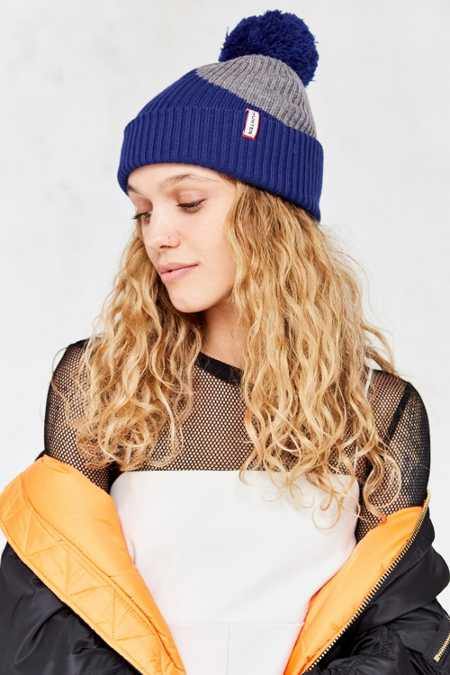Hunter Original Moustache Pompom Beanie