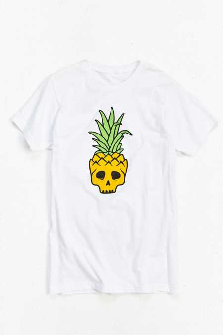 Mean Folk Pineapple Skull Tee