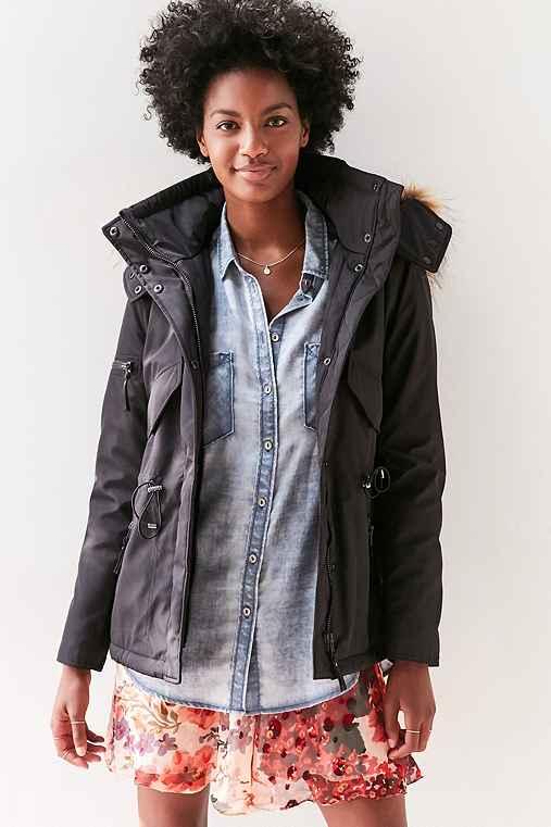 S13 Trapper Jacket,BLACK,XS