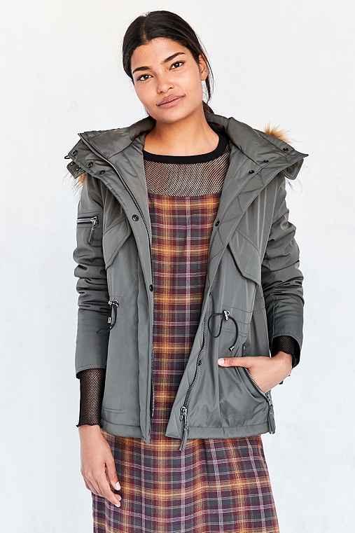 S13 Trapper Jacket,OLIVE,M