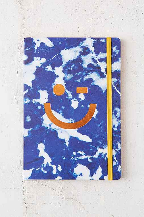 Smiley Journal,NAVY,ONE SIZE