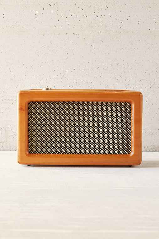 Crosley Harper Wood Wireless Speaker,BROWN,ONE SIZE