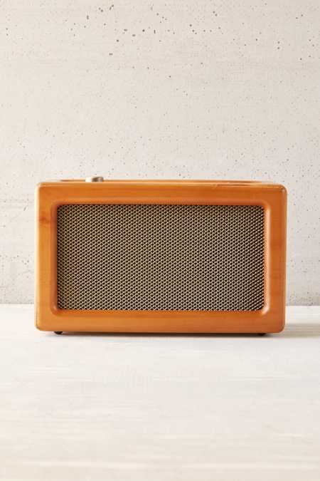 Crosley Harper Wood Wireless Speaker