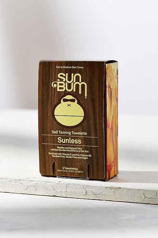 Sun Bum Sunless Tanning Wipes,ASSORTED,ONE SIZE