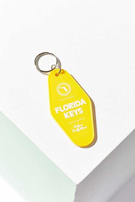 UO Souvenir Miami Key Tag