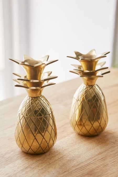 The Pineapple Co. Pineapple Shot Glasses Set