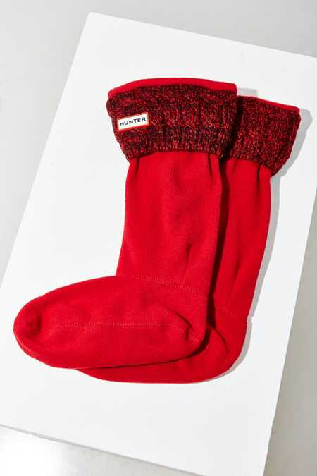 Hunter Cable Knit Boot Sock