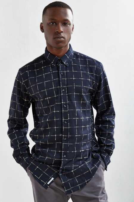 Publish Jemuel Windowpane Button-Down Shirt