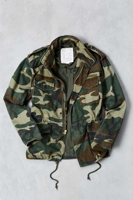 Rothco Washed Camo M65 Jacket