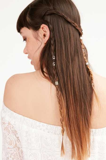 Metal Hair Cuff Set