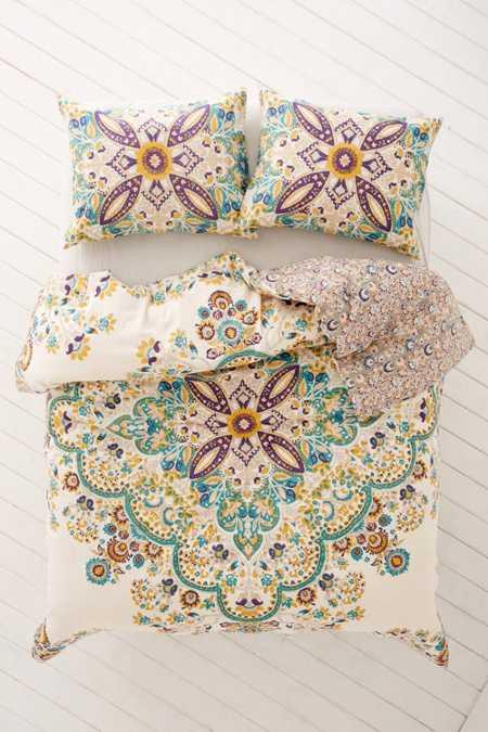 nessa floral medallion comforter