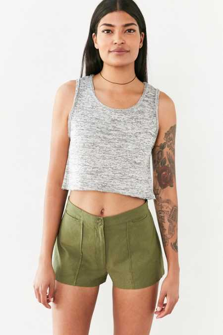 Ecote Polly Pintuck Short