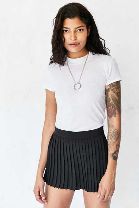 Silence + Noise Remy Pleated Skort