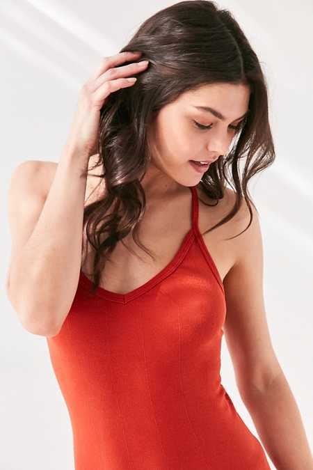 Out From Under Drop Needle Y-Back Cami