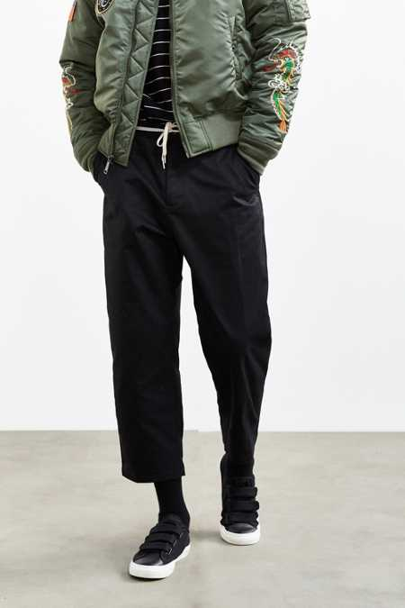 UO Relaxed Cropped Chino Pant