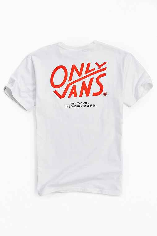 Vans X ONLY NY Pocket Tee,WHITE,XL