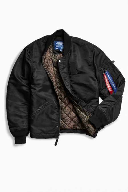 Alpha Industries + UO Finished Hem MA-1 Bomber Jacket