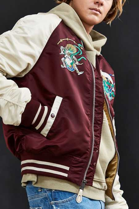 Alpha Industries Reversible MA-1 Souvenir Shinto Jacket