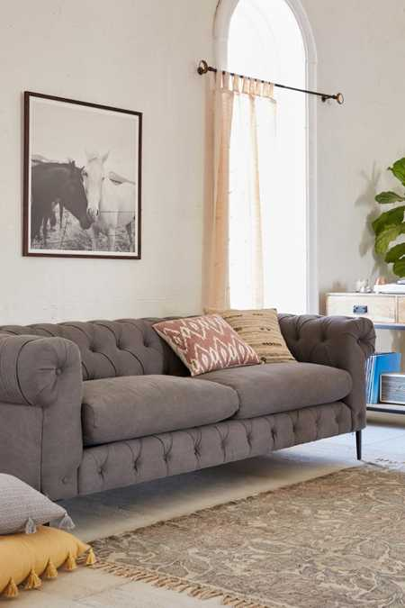 Canal Tufted Sofa